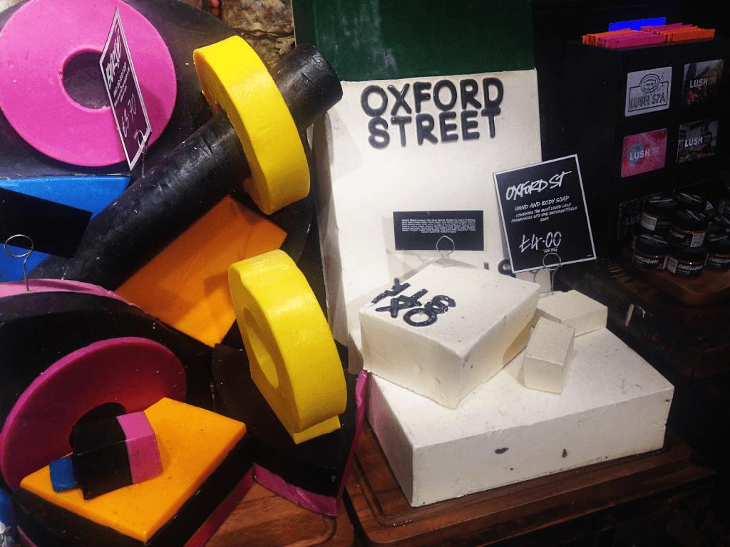 Lush Oxford Street soap