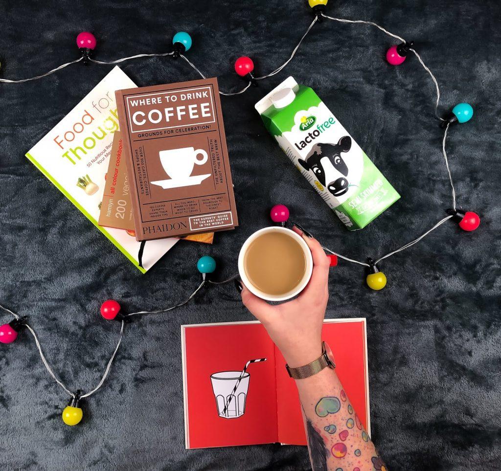 Lactose free coffee