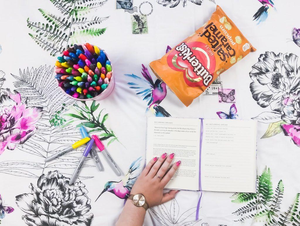 Creativity with Sharpie & Butterkist