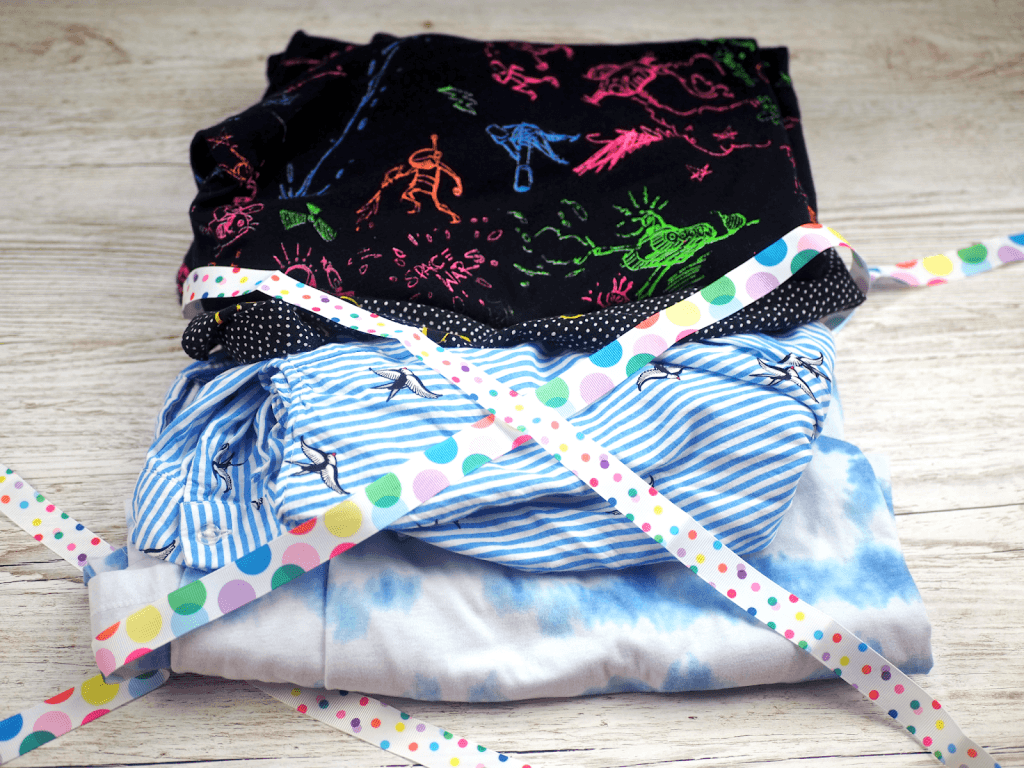 Clothing haul from a charity shop