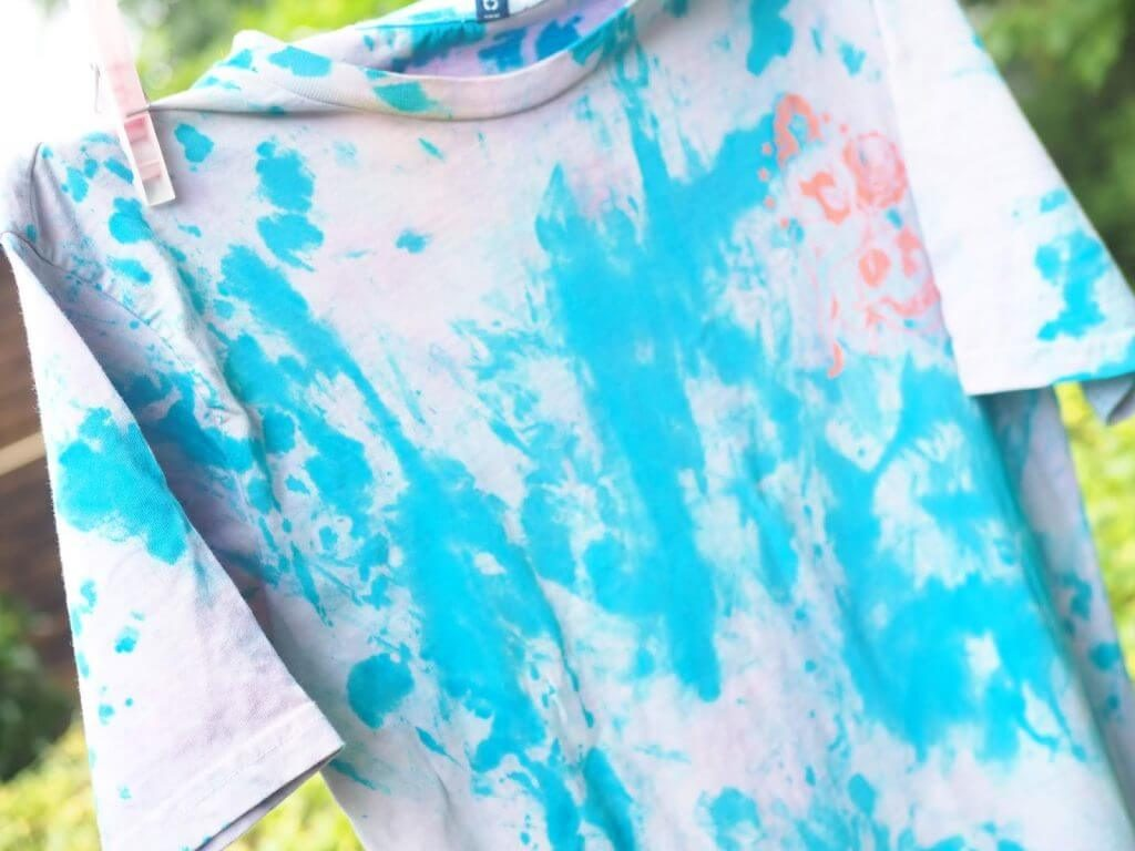 Tie Dye your Tees with Hobbycraft