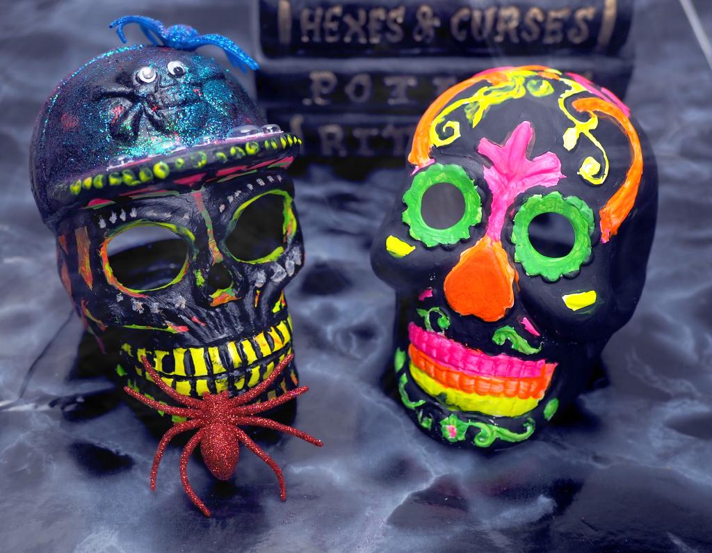 Ceramic Skulls makeover